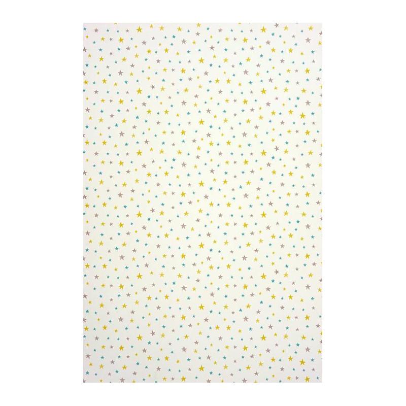 Papier peint Etoiles bleu - ALICE ET PAUL - Casadeco - AEP28056522