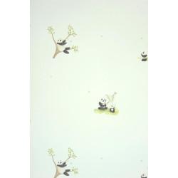 Papier peint Panda noir - ALICE ET PAUL - Casadeco - AEP28069536