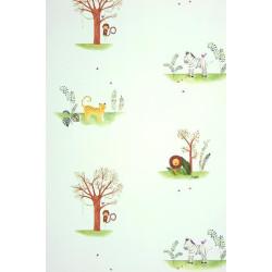 Papier peint Jungle vert - ALICE ET PAUL - Casadeco - AEP28087319