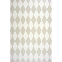 Papier peint Cirque Losange gris irisé - ALICE ET PAUL - Casadeco - AEP28104711
