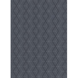 Papier peint Collector graphique gris - Erismann