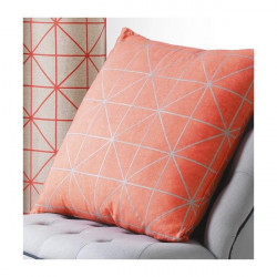 Coussin Origami Corail Scandinave - Art of Life