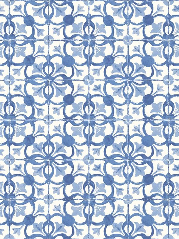 Papier peint motif carreaux de cuisine ancienne cavaillon caselio cli - Papier peint effet coussin ...