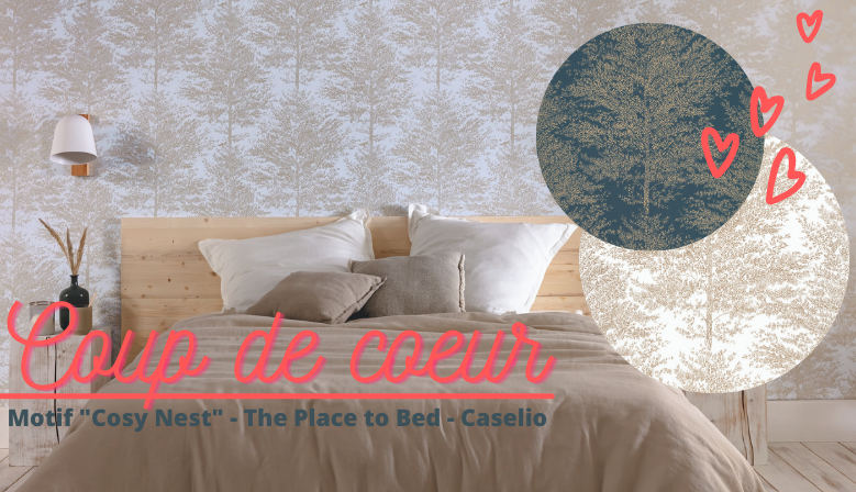 Caselio - The Place to Bed - collection papier peint tendance