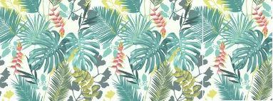 Papier peint tropical Jungle Mix 51178304 Lutèce